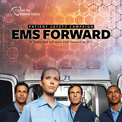 Center for Patient Safety EMS Forward campaign