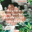 Talking Book Releases Nina Hart's Book, Somewhere in a Town You Never Knew Existed Somewhere, in Audio.