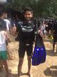 Suneet Jain in scuba gear