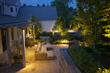Britescape knows how to create beauty and function, which is evident in the way they provided this landscape with warm, white lighting around the entire property.