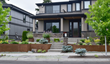 Nyce Gardens gave this Kirkland home an updated landscape that truly sets it apart from its neighbors using steel for the walls, planters, wall hangings, and trellises. This created a cohesive unity to the landscape and a signature look.