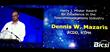 Concert President Dennis Mazaris, thanks BICSI for award