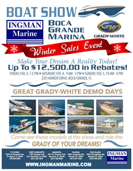 Ingman Marine Winter Boat Show Featuring Grady-White
