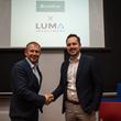 Coinfirm CEO Pawel Kuskowski with Luma Ventures Partner Tomasz Cichowicz