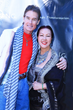 ACTOR RONN MOSS WITH SUE WONG