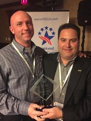 Huntsman World Senior Games receives award.