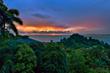 Pacific Ocean sunset view from Tulemar Resort, Manuel Antonio, Costa Rica