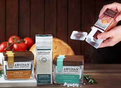 Artisan Salt Company packaging