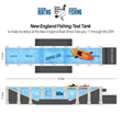 New England Fishing, Goose Hummock Shops to Feature Giant Test Tank at New England Boat Show