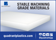 "Quadrant Announces New ""Stable Machining Grades"" of Olefin Stock Shapes"
