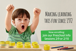Apple Montessori NJ February Preschool Info Sessions