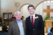 Rep. Jimmy Eldridge, R-Jackson, poses with Area Relief Ministries Executive Director Mike Roby during a lunch and reception held Monday, Jan. 24, 2017 at St. Luke's Episcopal Church in Jackson.
