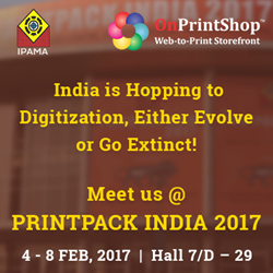 Meet OnPrintShop at PrintPack India 2017