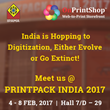 OnPrintShop Exhibits W2P Solution in PRINTPACK INDIA for the 4th Consecutive Year