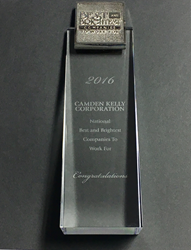 National Best and Brightest Award for Camden Kelly Corporation