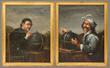 17th C. Italian Portraits of Philosophers, Oil