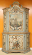 17th/18th C. Italian Venetian Polychrome Cabinet