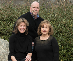 The Baker, Gracie, Herndon Team: Candy Gracie, Rock Herndon and Sue Baker.