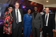 Dr. Knatokie Ford, White House Sr. Policy Advisor, Mark Hopkins, Chair of NSS Executive Committee, Astronaut Yvonnne Cagle, Aldis Hodge, Actor, Hidden Figures, and Bruce Pittman, NSS Senior Vice Presi