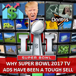 Why 2017 Super Bowl TV Ads Have Been a Tough Sell