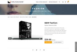 Pixel Film Studios Plugin - B&W Fashion - Final Cut Pro X