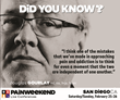 San Diego PAINWeekEnd: Pain Management CE/CME Conference for The Main Street Practitioner on February 25 and 26