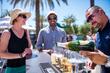 IWAF Champagne Circle Bar