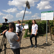 Wine Oh TV's Monique Soltani on location in Sicily, Italy.