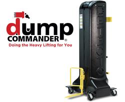 DETECTO's Award-Winning New Dump Commander Trash Can Dumping Device