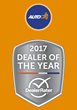 Outstanding Customer Satisfaction and Upholding Core Company Values Wins Auto City the 2017 DealerRater Used Car Dealer of the Year Award