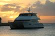 Horizon Power Catamarans PC60 at sunset