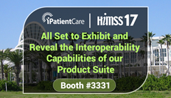 iPatientCare is All Set to Exhibit at HIMSS 2017 Event