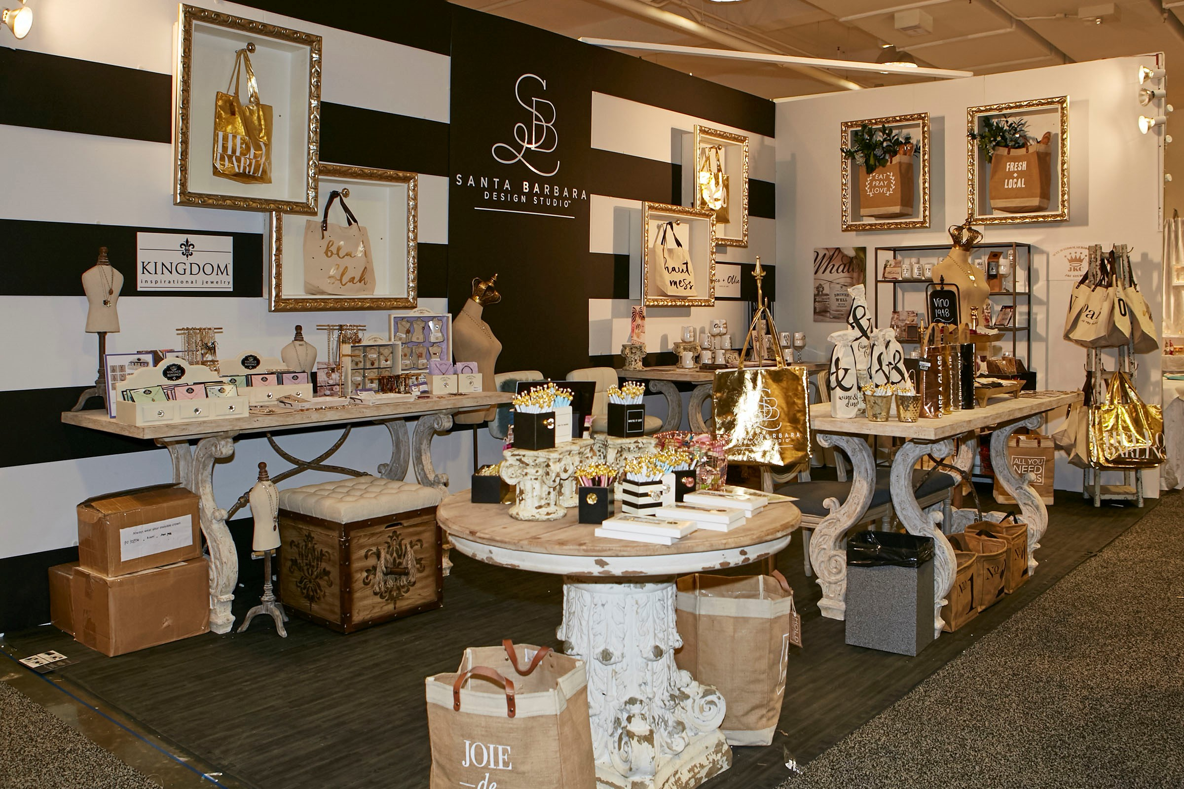 Santa Barbara Design Studio's Atlanta Temporary Booth Recognized with Best of Category For Outstanding Visual Display Award, Sponsored by AmericasMart