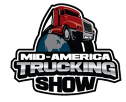 PCG promotes freight bill factoring services at the Mid-America Trucking Show.