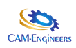 Logo of Custom Automation and Machinery, Inc (CAM Engineers)