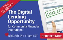 Digital Lending Webinar