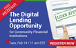 BSG Financial Group to Host Digital Lending Webinar for Community Financial Institutions