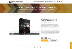 TransFocus Layers - FCPX - Pixel Film Studios Plugin