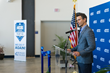 Rob Ceravolo, CEO of Tropic Ocean Airways, speaks on the benefits of the new partnership between his company and Broward College for the students.