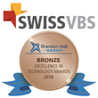 SwissVBS SET Sales Enablement System Wins the 2016 Brandon Hall Group Bronze Award in Technology