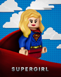 LEGO version of Warner Bros. Television Group's SUPERGIRL billboard on the Studio's west wall. (Credit: © 2017 Warner Bros. Entertainment Inc. All Rights Reserved.)