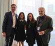 Philippe Cousteau, Leilani Münter, Sara Gutterman, and Ron Jones at the Sustainability Symposium 2017: Ready for Anything Photo Credit: Heather Wallace