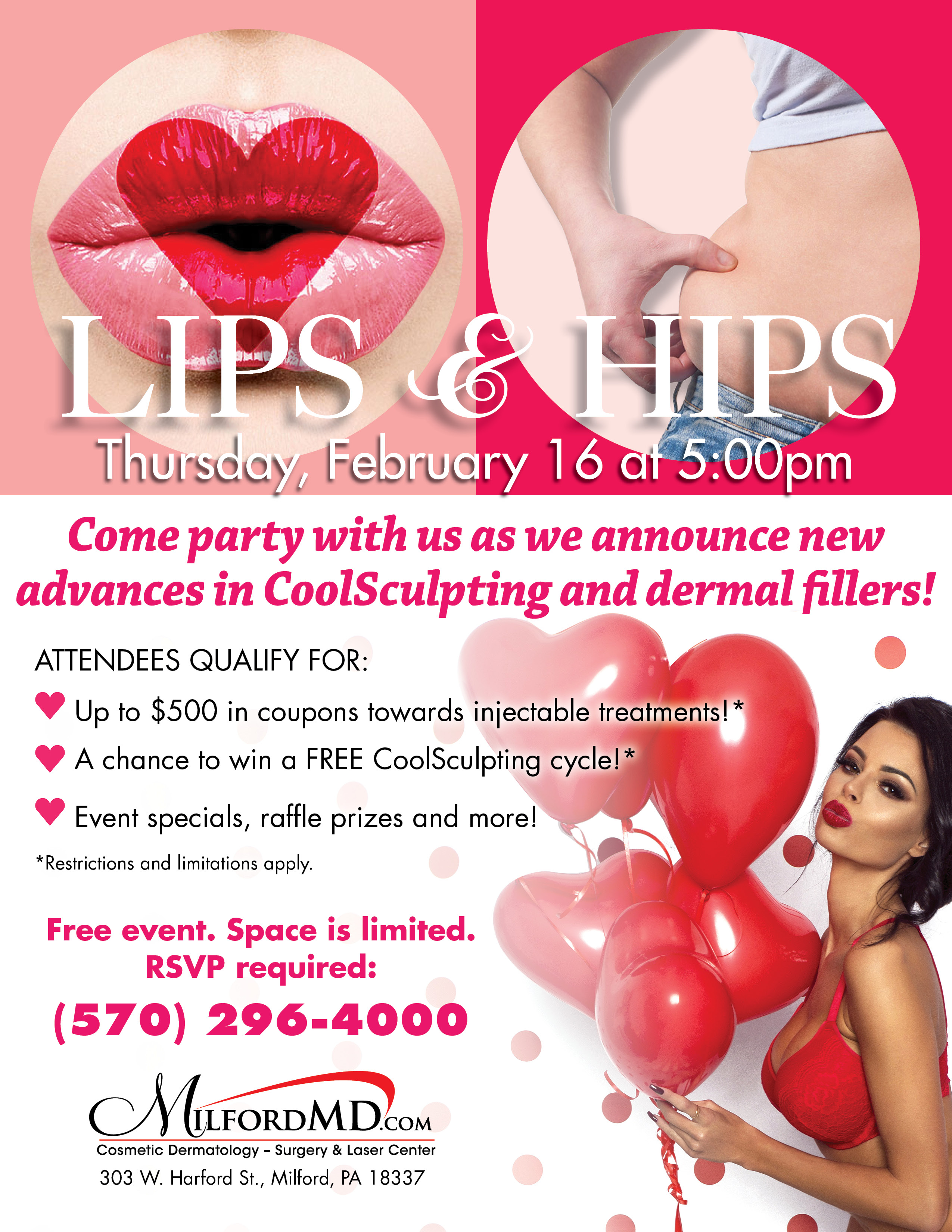 The Public Is Invited To Milfordmd S Lips Amp Hips Event On