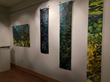 Artwork by Krisanne Baker on Display at Husson University's Robert E. White Gallery.