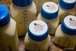 Donor human milk is collected at depots, such as Texas Health Dallas, before it is processed and pasteurized at Mothers' Milk Bank of North Texas.