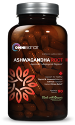 The new Organic Ashwagandha from OmniBiotics® is now available for shoppers across the United States