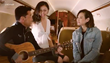 Michael Wong and his family are filmed inside a luxurious Bombardier G450