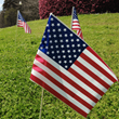The Flag Company proudly announces its new line of American stick flags
