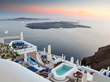 Early Bird Captures Sweet Santorini Romance