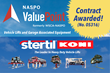 Stertil-Koni Awarded NASPO ValuePoint Contract for Vehicle Lifts and Garage Associated Equipment